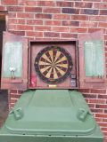DART BOARD IN CASE