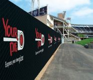 World Class Fence Wraps for Advertisements