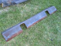RARE OEM 1955 1956 FORD TRUCK FRONT LOWER VALANCE PANEL STEEL 1955 1956 FORD TRUCK Lower Radiator