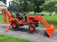 $2,599, Kubota BX25 TLB Loader Backhoe 4x4