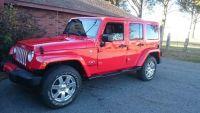 2017 Jeep Wrangler Unlimited Sahara 4x4 4dr SUV