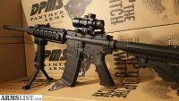 For Sale: DPMS AR 15 Rifle with 3x30 Scope, 45 Degree Sights, Quad Rail, Fore Grip Bi Pod ar15 Rifle 5.56 nato