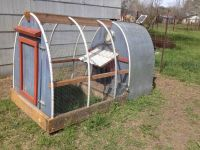 Chicken Tractor stagecoach