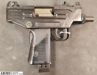 For Sale: USED I.W.I. UZI PISTOL 9MM