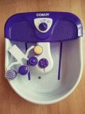 Conair Pedicure Massaging Foot Spa with 4 attachments.