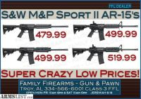 For Sale: Smith & Wesson M&P Sport II Models starting at 479.99 ... see photo for details!