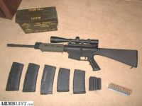 For Sale/Trade: AR 10 - LR 308. UPGRADES. LOW ROUND COUNT! PLUS 320 ROUNDS OF AMMUNITION.