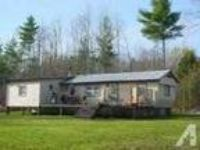 $550 / 2 BR - Mobile Home in Adirondacks (Moriah, NY) 2 BR bedroom