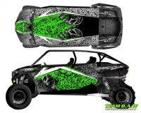 Buy Polaris 4 RZR 1000 xp Design MXVEC 013 Decal Graphic Kit Wraps UTV Turbo Scoop motorcycle in Ogden, Utah, United States, for US $449.99