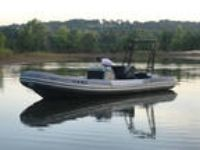 NAUTICA 25 widebody RIB INFLATABLE Boat , W/ heavy daddy