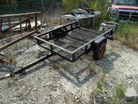 9ft 8inch Utility Trailer