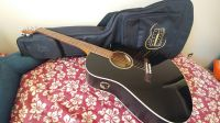 BRAND NEW Seagull Entourage CW Black GT QIT Acoustic-Electric Guitar WITH CASE