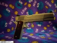 For Sale: Custom Stainless Umarex/Regent 1911 In .45 ACP