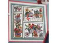 My Heart Is In My Garden Sampler Counted Cross St Magazine