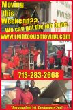 Moving soon Call Righteous Moving, Sugar Lands Most Affordable Moving Company