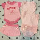 Baby gifts lot Astro s baseball POMS