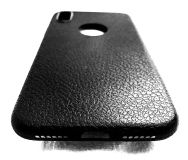 Iphone x leather pattern case