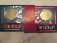 1993 Elvis Presley Commemorative Coins (Set of 2)$5  $10