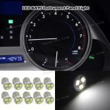 Purchase 10x Super White LED 1815 57 Instrument Panel Lamps BA9S Light Bulb 12V motorcycle in Milpitas, California, United States
