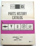Purchase 1973-1975 CHEVROLET OLDSMOBILE BUICK PONTIAC CADILLAC PARTS HISTORY BOOK GTO 442 motorcycle in Darien, Connecticut, United States, for US $50.00