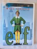 Will Farrell in ELF! Great Christmas Movie! 2 Disc Special! Like NEW! Except back cover:see pic.