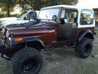 1985 cj7 jeep AUTOMATIC   REDUCED