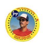 1986 White Sox Ozzie Guillan Collectors Circle Card from Jays Potato Chip