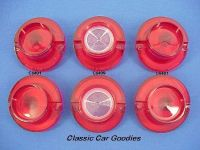Purchase 1964 Chevy Impala Tail Light & Back Up Lens Set (6) motorcycle in Aurora, Colorado, US, for US $49.99