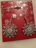 Silver snowflake earrings. NEW wear them all winter. Not just Christmas.