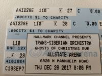 Chicago 2 Trans-Siberian Orchestra tickets