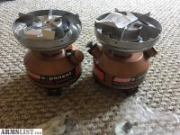 For Sale: Two Coleman Exponent Multi Fuel Stoves