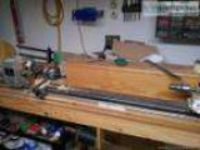 Two Billiard Pool Cue Lathes For Sale with Supplies