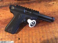 For Sale: Ruger 22/45 MK3 tactical pistol.