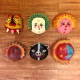 Funky Faces Whimsical Wall Decor