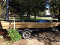 16 ft Jon boat with trailer
