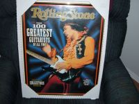 ROLLING STONE Jimi Hendrix Framed Picture