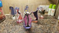 Lot of 6 Disney character cups