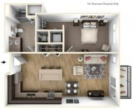 1 Bed - High Pointe