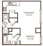 $6180 1 apartment in Bartlett