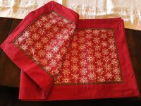 Red w/snowflake Table Runner
