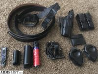For Sale: Duty holster, belt, etc.