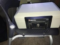 Small fireproof safe with key $20.00