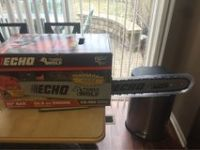 new Echo Chain Saw 20inch