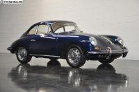 1964 Porsche 356 SC Coupe bali blue