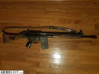 For Sale/Trade: CETME .308 w/ railmount and wood furniture