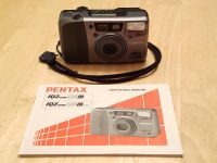 Pentax IQZoom 115m Film Camera (with operating manual)