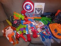 Lot of childrens toys
