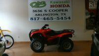 2012 Honda TRX420TM Sport-Utility ATVs Arlington, TX