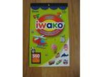 iwako Japanese ERASERS Sticker Book Darice 360 STICKERS Ages