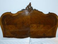 BED: Antique French Rococo Style Full Bed